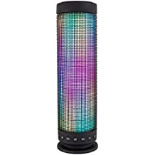 Altavoz bluetooth led (Cilíndrico)