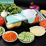Mandolines de Cuisine Baban 6 en 1 Trancheuse de Légumes à...