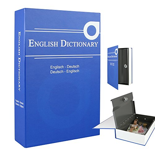 Geldkassette (Buchsafe) getarnt als English Dictionary - 3