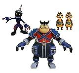 Kingdom Hearts SEP178689Select Series 2Pete Chip Dale Soldier Action Figure, Multicolore