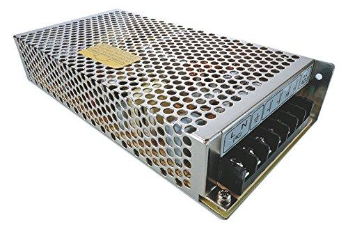 Meanwell fuente de alimentación, RS-150-12, tensión constante, 220-240 V, AC/50-60 hz, 12 V, DC, 0-12, 5 A, 150 W 872806