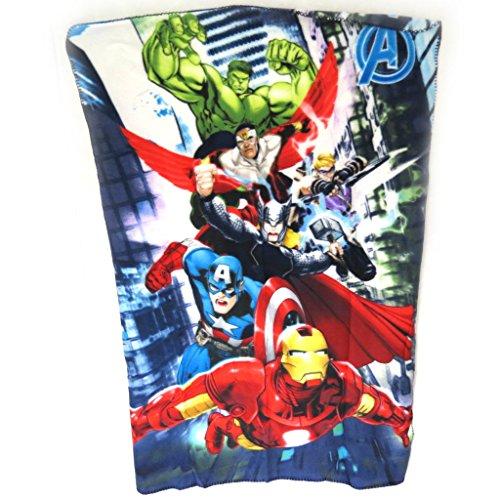 Avengers [N0498] - Plaid Polaire 'Avengers' tutti frutti - 140x100 cm