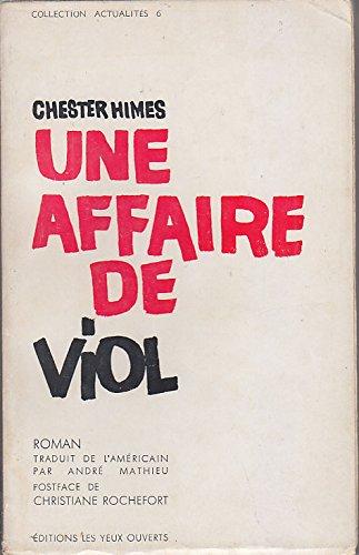 UNE AFFAIRE DE VIOL Edition Originale SERVICE DE PRESSE 1963 Tampon HOMMAGE EDITEUR par Chester HIMES