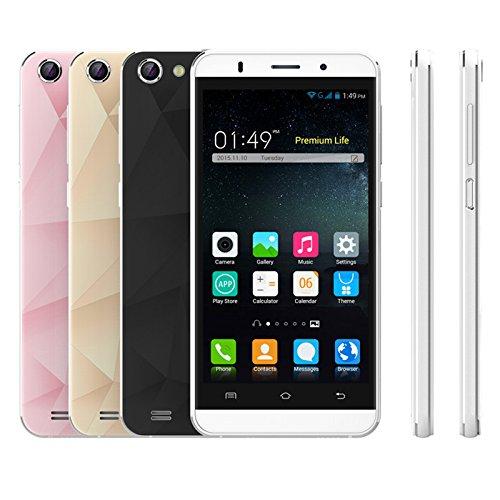 wogiz sbloccato Smartphone Dual SIM 5.0QHD Sceen Anroid 5.1MTK6580Quad Core