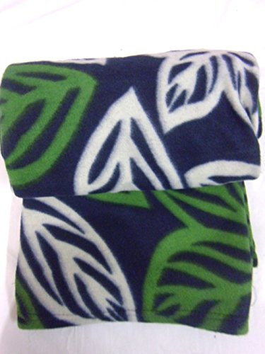 Country Home LOTUS Printed Warm Fleece Double Blanket GSM 125, L W 240x220 cm GREEN  available at amazon for Rs.249