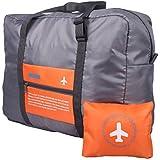 PETRICE Nylon Luggage Bag (Orange_PETRICE-FOLDING-LUGGAGE-BAG-ORANGE_16)