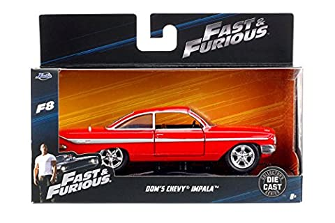 DieCast Model Car DOM 's CHEVY IMPALA from FAST &