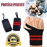 AINOLAN Protège-Poignet Sport Bracelet Bande Poignet – Bande de Support Poignet...