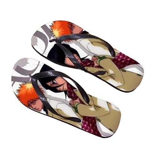 Bromeo Bleach Anime Unisex Flip Flops Zehentrenner Flip Pantoffeln 270