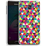 Samsung Galaxy A3 (2016) Housse Étui Protection Coque Triangles Triangles Triangles