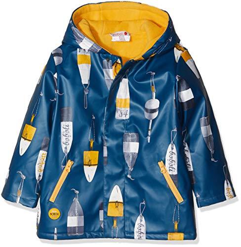 Boboli Boboli Jungen Regenmantel Hooded Raincoat for Baby Boy Mehrfarbig (Boyas 9916) 68 cm(Herstellergröße:6m)