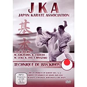 JKA Japan Karate Association Technique du bas Kihon