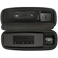 Travel Hard Case Tragetasche für Bose Soundlink Mini / Mini 2 Bluetooth Portable Wireless Lautsprecher. Passend für die Wandladegerät und Ladeschale. Von Comecase