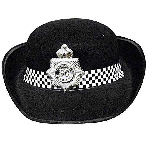 (Raum LS Glamour Frauen), Polizei-Kostüm Hut, Krawatte, Schlagstock, Polizei Abzeichen, (Kostüme Polizei Fashion Womens)
