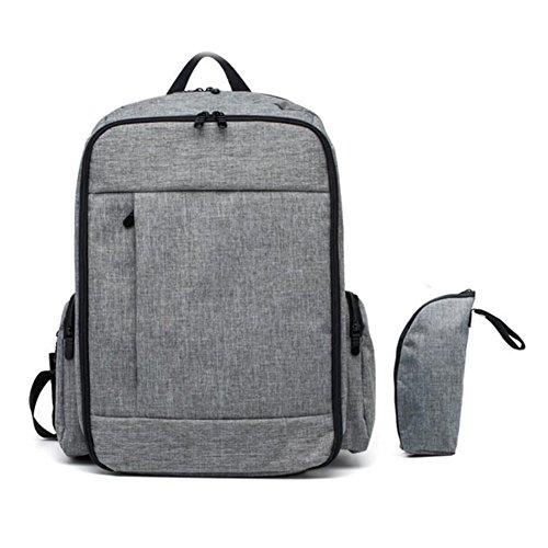 Preisvergleich Produktbild bbway Extra große Wickeltasche, Rucksack mit Wickelaufsatz Pad kann als Laptop-Rucksack