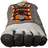 Vibram FiveFingers Herren Trek Ascent Outdoor Fitnessschuhe, Mehrfarbig (Grey/Orange/Black), 46 EU - 4
