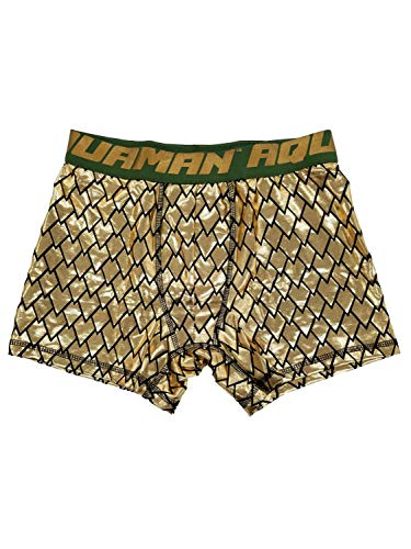 n Boxershorts Aquaman Gold Lame - Gold - XX-Large 44-46 US ()