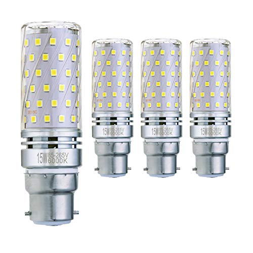Led Bulbs & Tubes 6 Pack B15 Led Bulb Dimmable 110v 220v 5w Led B15 Corn Light Lamp 72led No Flicker 2835 Smd 4000k Replace 30w 35w Halogen Lamp Firm In Structure