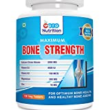 Pronutrition Bone Strength With Calcium Citrate (2000 MG), Vitamin D3 (4000 IU), Vitamin K2 (150 MCG), Magnesium...
