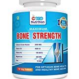 Pronutrition Bone Strength with Calcium Citrate (2000 MG), Vitamin D3 (4000 IU), Vitamin