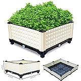 Inchant NOUVEAU Creative Raised Garden Bed pour les légumes et FlowersOutdoor Balcon arrière toit boîte de légumes Jardinière, boîtes amateurs de plantes Meilleur boîte de plantation Choix
