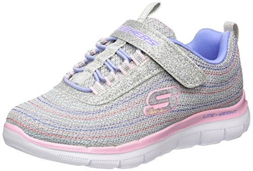 skechers-madchen-skech-appeal-20-mini-metal-sneakers-grau-lgmt-27-eu