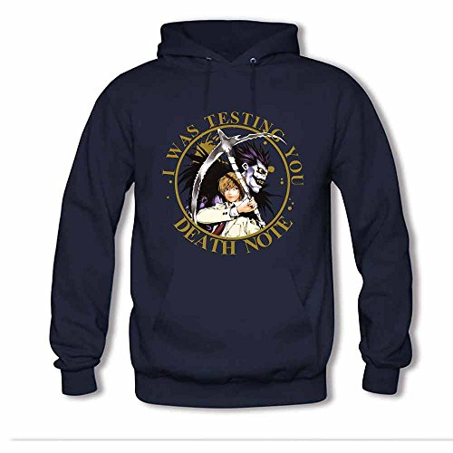 Death Note Ryuk and Light Yagami Men's Cotton Hoodie M
