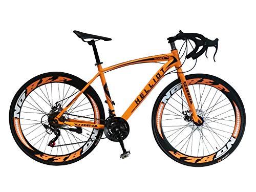 Helliot Bikes Sport 03 Rennrad, Unisex, Erwachsene M orange