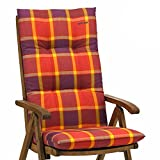 6 Kettler Gartenmöbel Auflagen für Hochlehner Sessel Dessin 022 in