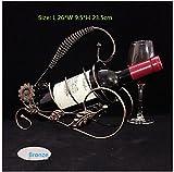 THk&M Vino creativo di vino del vino dell'arancio del vino dell'arancio della vite dell'insieme di vino della vite, decorazione della sospensione, D