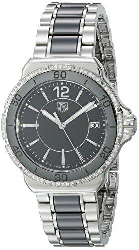TAG Heuer WAH1212.BA0859 - Orologio da polso Donna, Acciaio inossidabile, colore: Argento