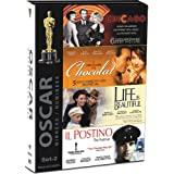 Oscar Winner Set 2 (Set of 4 Movies - Chicago/Chocolat/Life is Beautiful/Il Postino (The Postman))