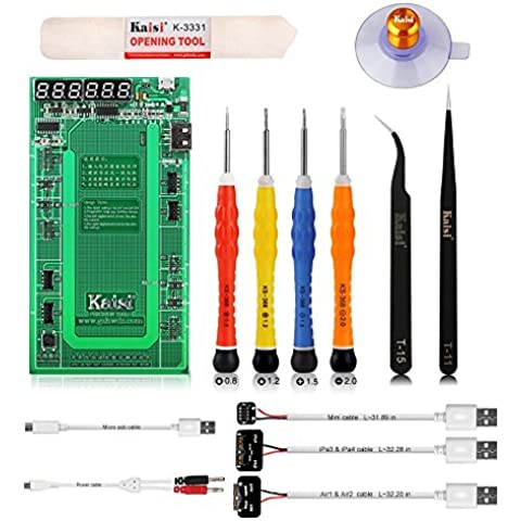 14pcs Battery Tester/attivazione batterie per Apple Iphone 4/4S/5/5 C/5S/6/6S/6 +/6S +/iPad 4/iPad Mini/iPad Air