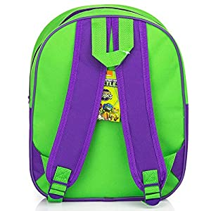 51OSJVtSPYL. SS300  - Tortugas ninja Mochila escolar 3D infantil, bolso de escuela niño