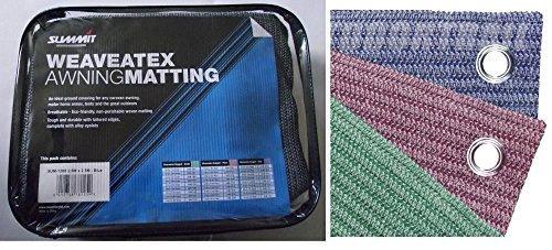 Preisvergleich Produktbild Summit sum-1207weave-a-tex Beutel Vorzeltteppich, 2,5x 6m, Grün