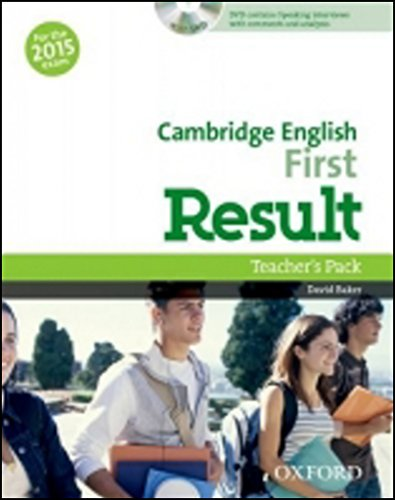 Cambridge English: First Result: Certificate in Advanced. English Result Teacher's Book & DVD Pack Ed 2015