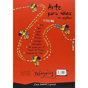 Velazquez Para Niños. Un Viaje Con El Gran Ma (Arte Para Niños)