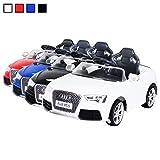 Actionbikes Motors Kinder Elektroauto Lizenzierter Audi RS5 Lizenziert 2 x 35 Watt Motor Original Elektro Kinderauto Kinderfahrzeug Spielzeug für Kinder Kinderspielzeug (Weiß)