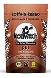 Produkt-Bild: koawach Pur Trinkschokolade ohne Zucker mit Guarana Wachmacher Kakao - Bio, vegan und fair gehandelt (100g, 220g oder 500g)
