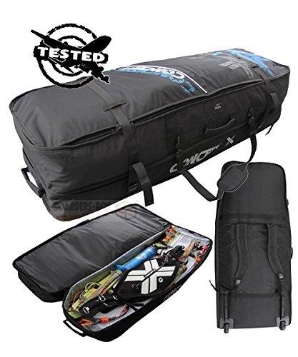 Concepto X kitebag TRAVEL-BEACH PRO viajes Boardbag Beach PRO negro Talla:140