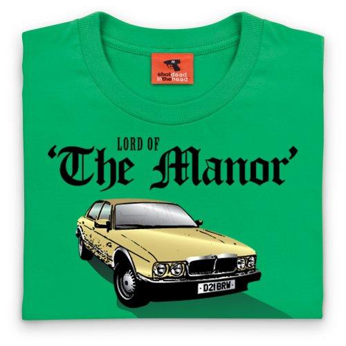 PistonHeads Manor T-Shirt, Herren Keltisch-Grn