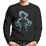 Dragon Ball Z Goku Ultra Instinct Fire Men's Sweatshirt