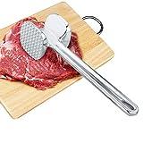 XINGRUI Aggregati Allentati della Lega di Alluminio del Gadget Strumenti della Cucina della Carne di Maiale della Bistecca del Martello della Carne, Piccole Dimensioni: 4,5 x 19.0 cm