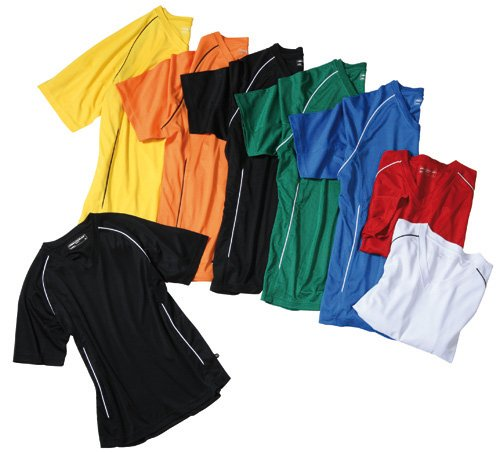 Team Shirt Junior/James & Nicholson (JN 386k) XS S M L XL XXL Schwarz,XXL (158-164)