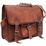Cool Stuff 18pulgadas grande maletín bandolera de piel Para Portátil/MacBook bolsa oficina bolsa resistente para piel bolso bandolera