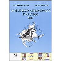 Almanacco astronomico e nautico 2007