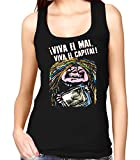 35mm - Camiseta Mujer Tirantes - La Bruja Averia Viva El Mal Viva El Capital -Tv - Women'S Tank Top, NEGRA, M