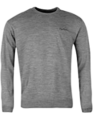 Pierre Cardin - Pull Col Rond Ras du Cou Homme