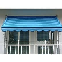 Angerer Klemmmarkise Dralon Nr. 9400, Blau, 300 cm