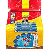 Tetra Pond Koi Colour&Growth Sticks (Premiumfutter in Stick-Form für alle größeren Koi), 4 Liter Beutel